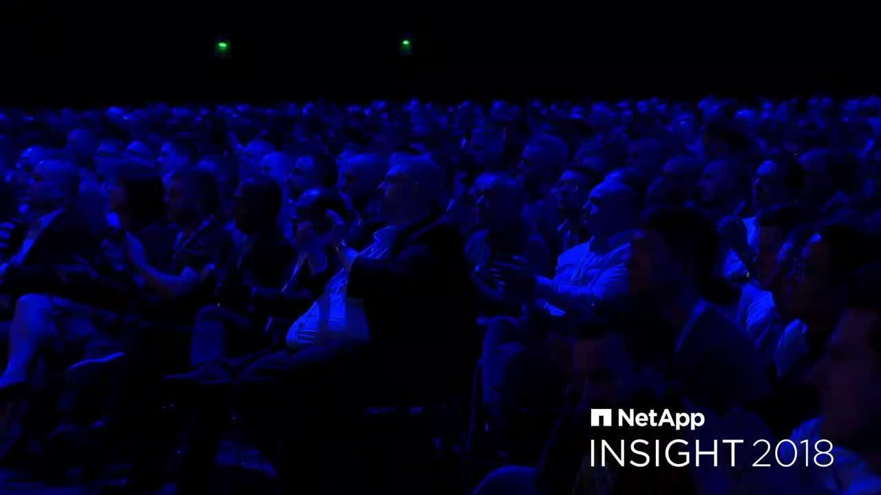 NetApp Insight 2018 | Wednesday Keynote Live from Barcelona