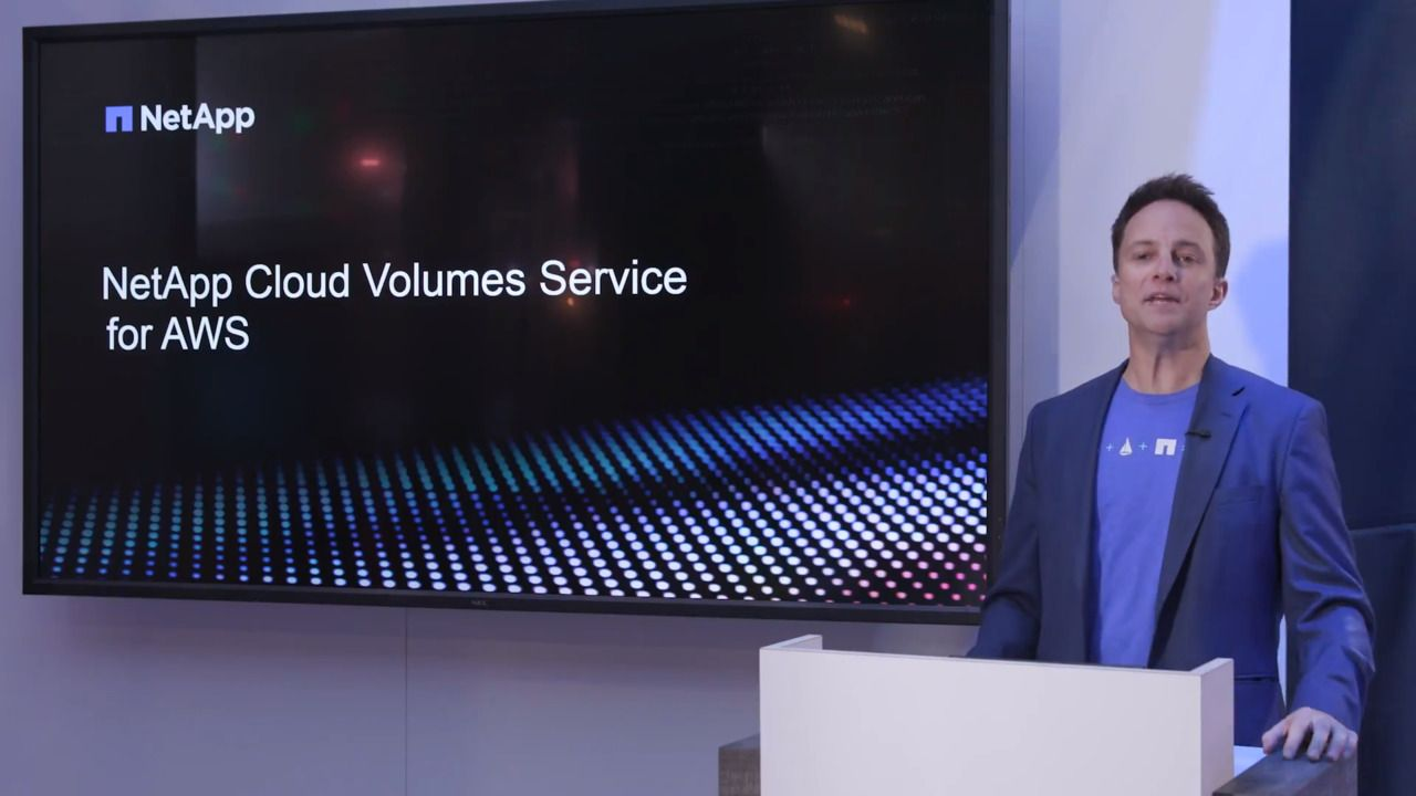 Benefits of NetApp Cloud Volumes Service for AWS