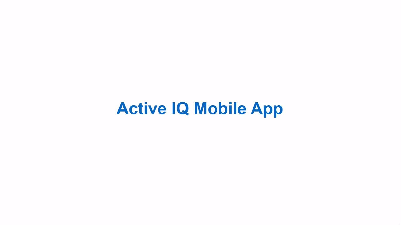 NetApp Active IQ Mobile App