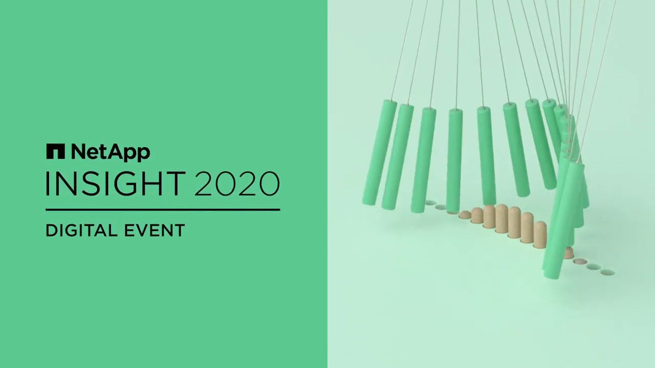 This Is NetApp INSIGHT 2020 Digital