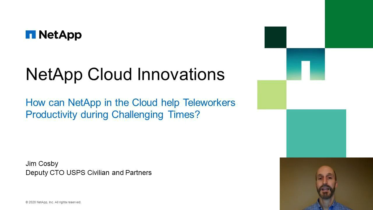 NetApp Cloud Innovations
