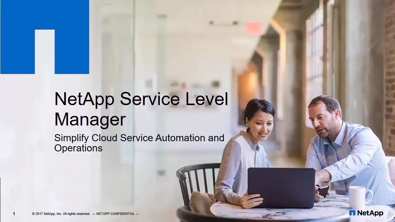 NetApp Service Level Manager Configuration