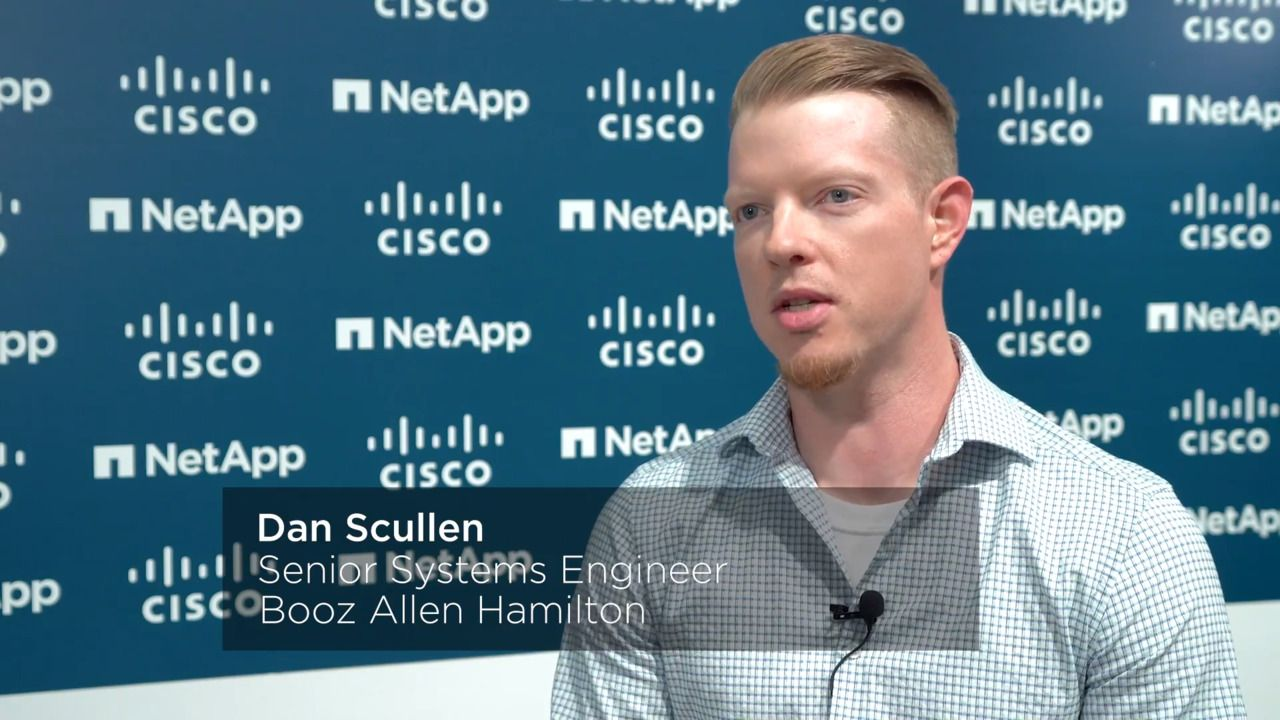 Booz Allen Hamilton Relies on FlexPod for Secure Multi-Tenancy and Data Protection