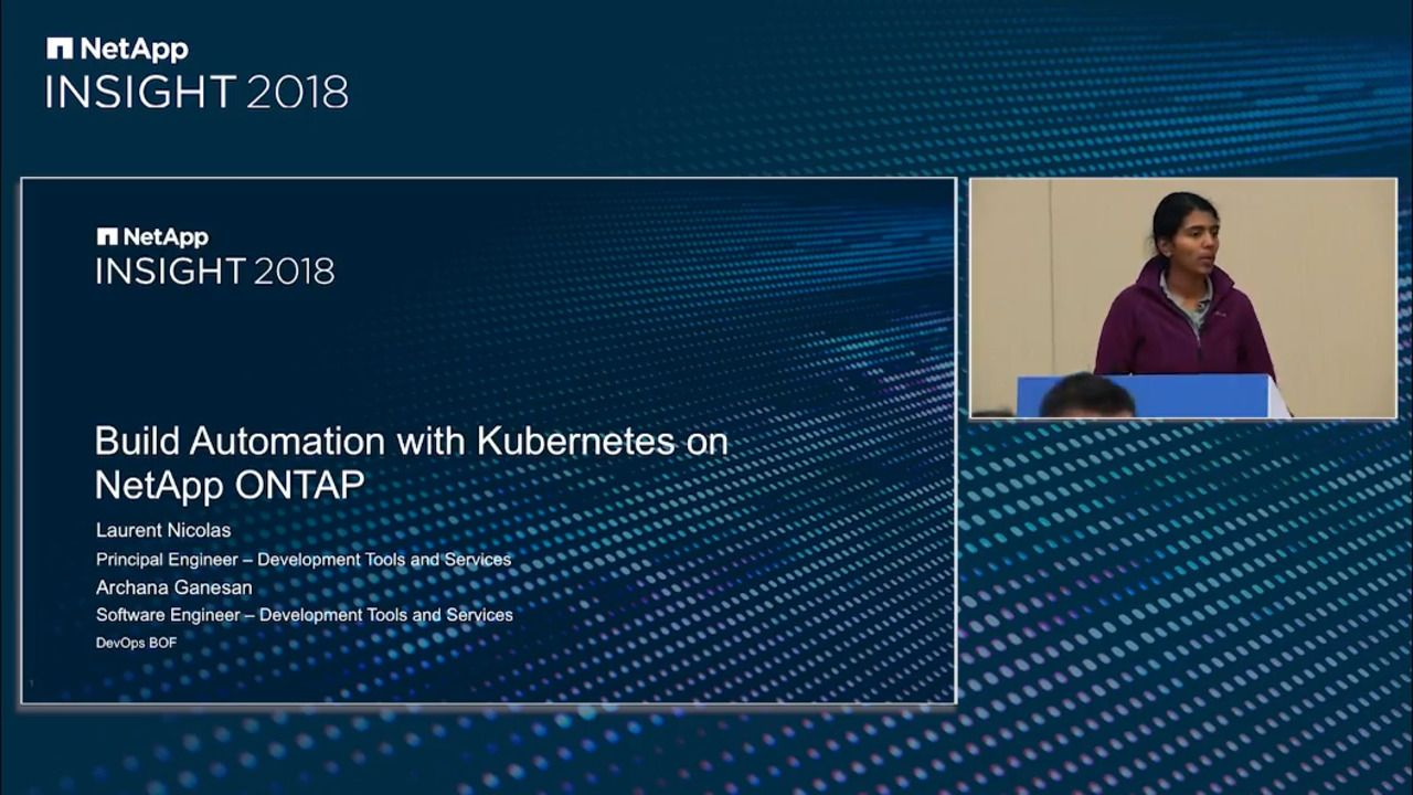 Building Automation with Kubernetes on NetApp ONTAP