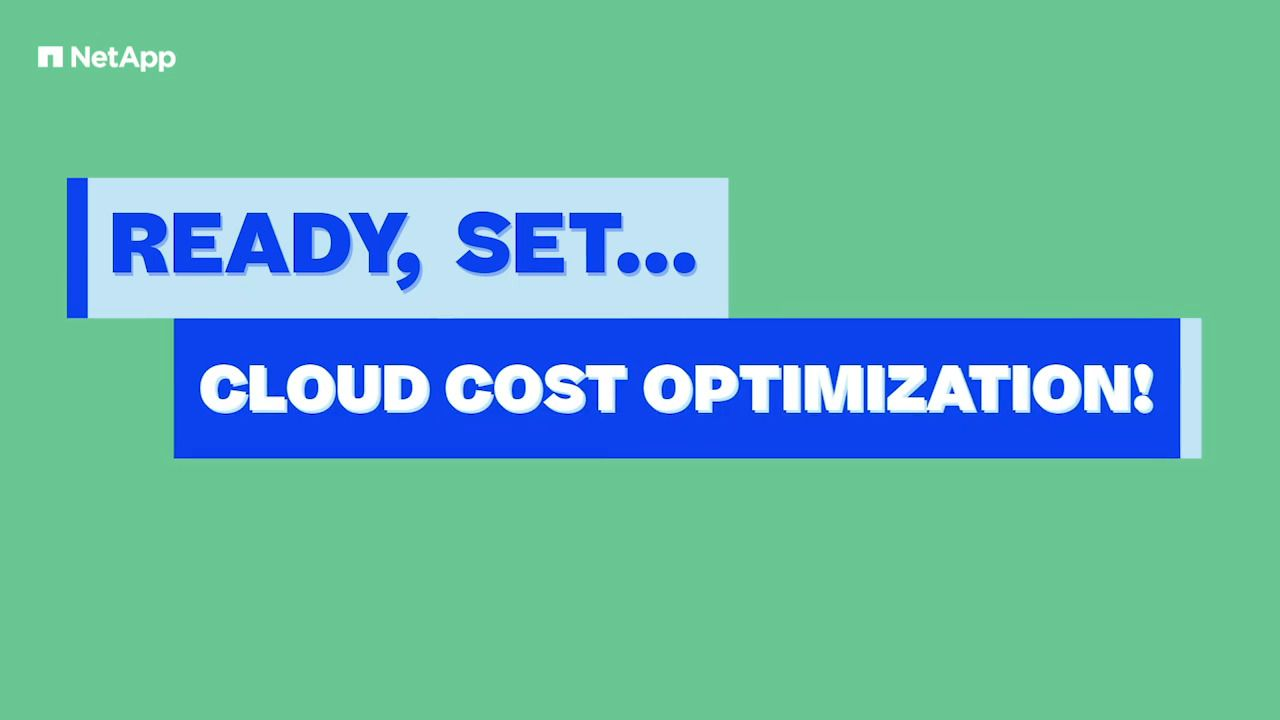 Ready, Set… Cloud Cost Optimization
