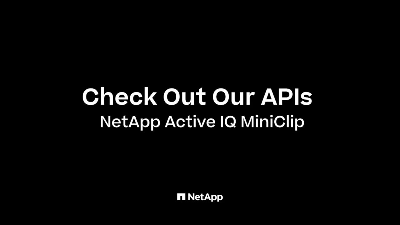 Check Out Our APIs