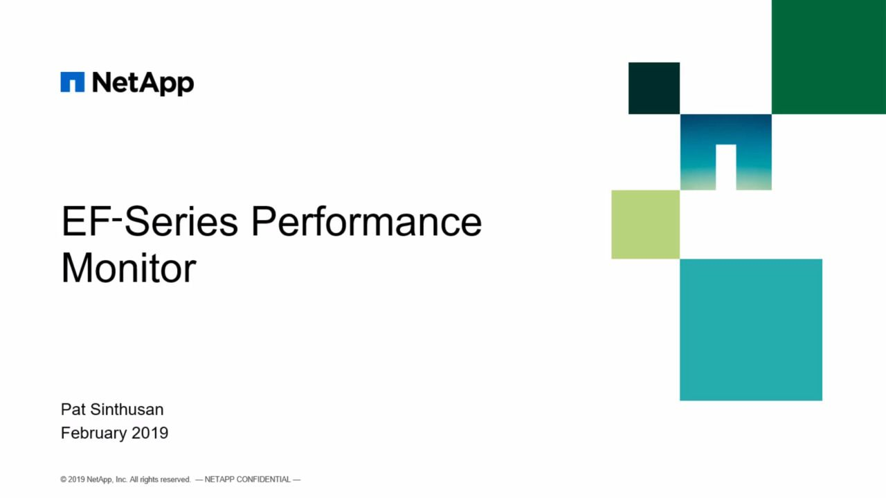 Monitor SQL Server Performance with EF-Series