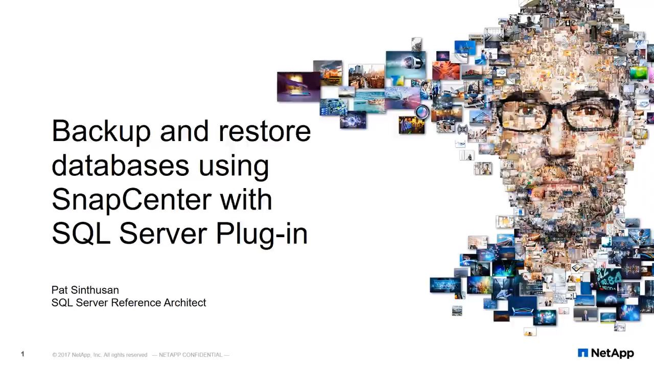 How to Back Up and Restore Databases Using SnapCenter with SQL Server Plug-In