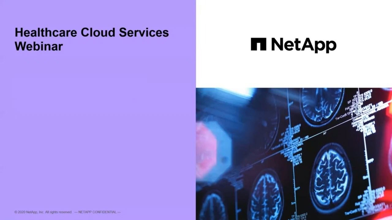 NetApp Healthcare Cloud Services