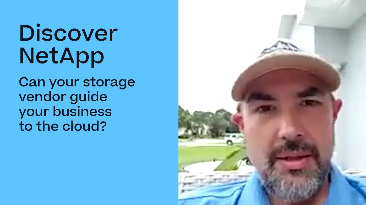 Can Your Storage Vendor Guide Your Business to the Cloud?