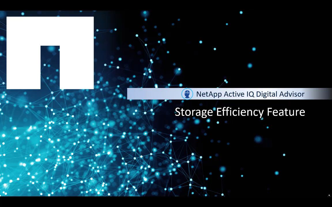 Analyzing Storage Efficiency Savings  - NetApp Active IQ Digital Advisor