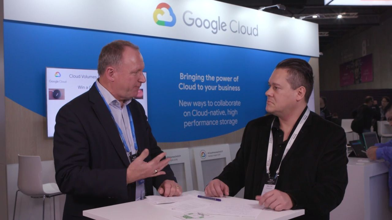 Benefit From Cloud-Native, High Performance Storage with Google Cloud and NetApp