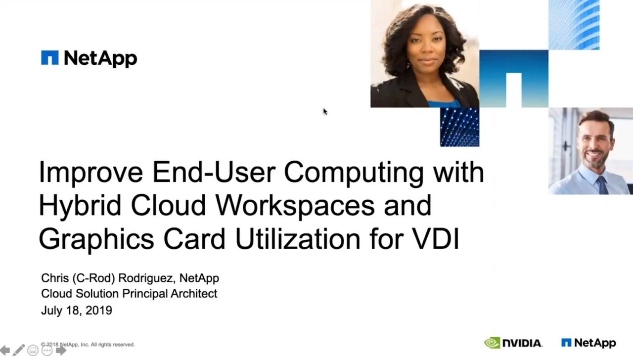 Improve End-User Computing (EUC) with Hybrid Cloud Workspaces for VDI