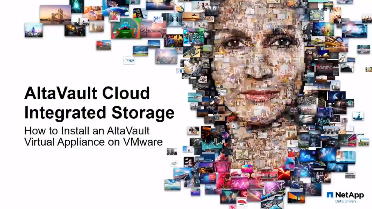 Deploying Virtual AltaVault in VMware