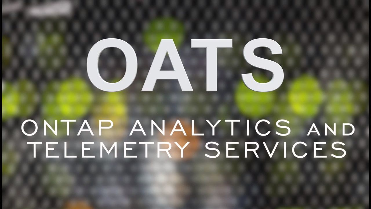 NetApp ONTAP Analytics and Telemetry Services (OATS)