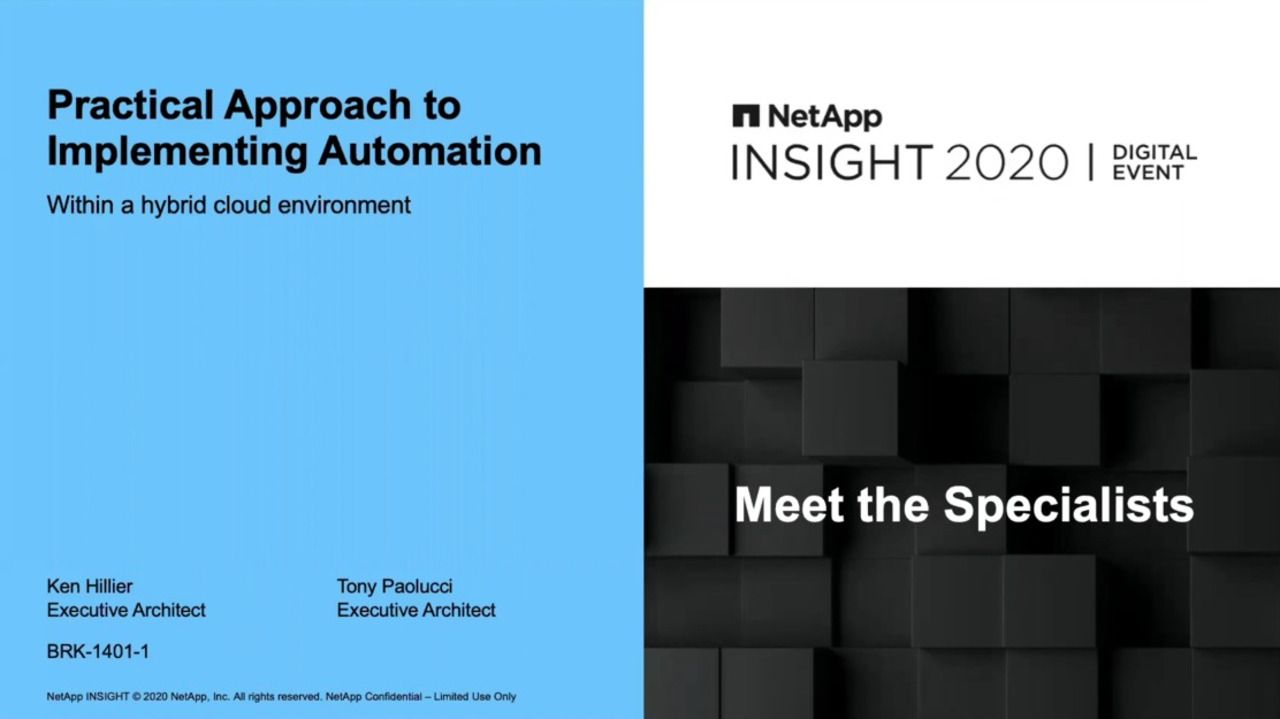 Practical Approaches to Implementing Automation in a Hybrid Cloud