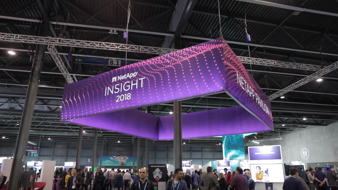 NetApp Insight 2018 - Barcelona Highlights