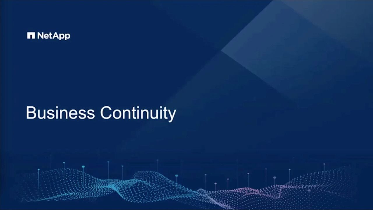 Preparing for Business Continuity - Now And In The Future