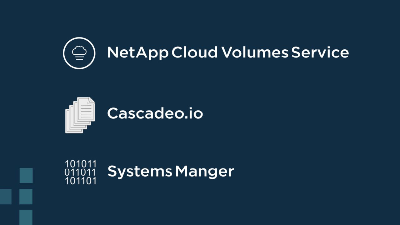 Microsoft Workloads on AWS with Cascadeo and NetApp