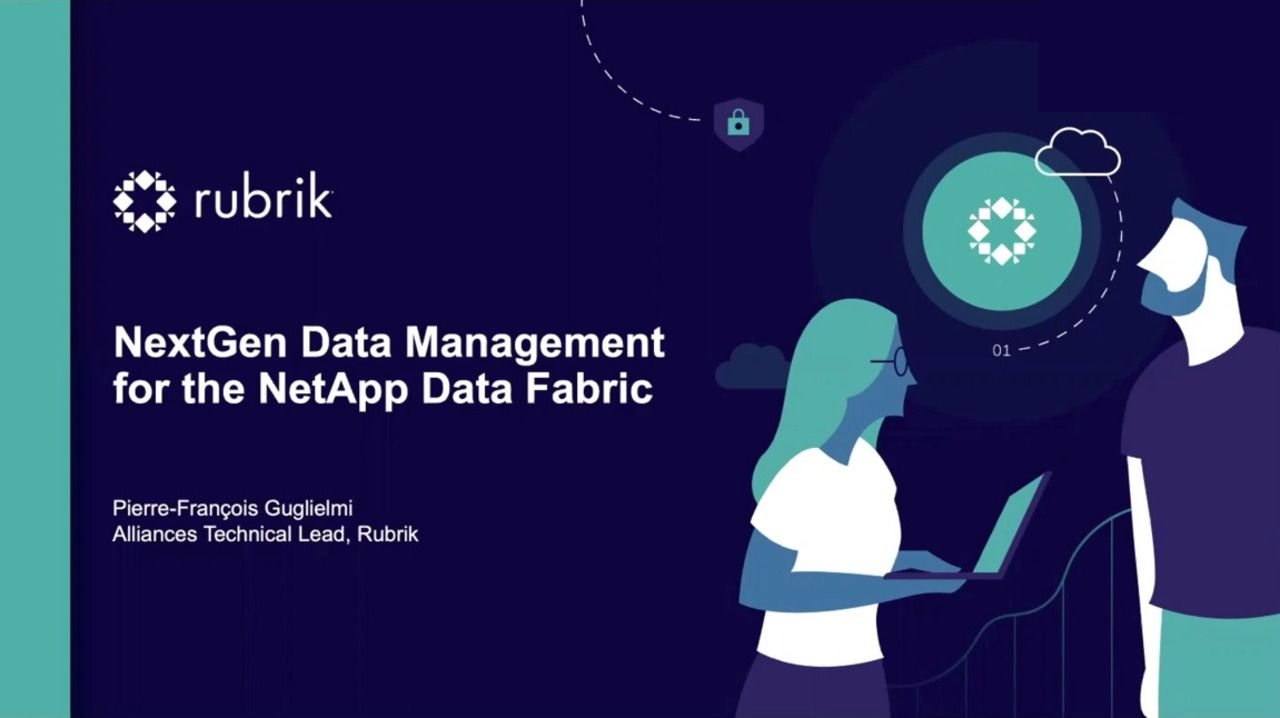 NextGen Data Management for the NetApp Data Fabric