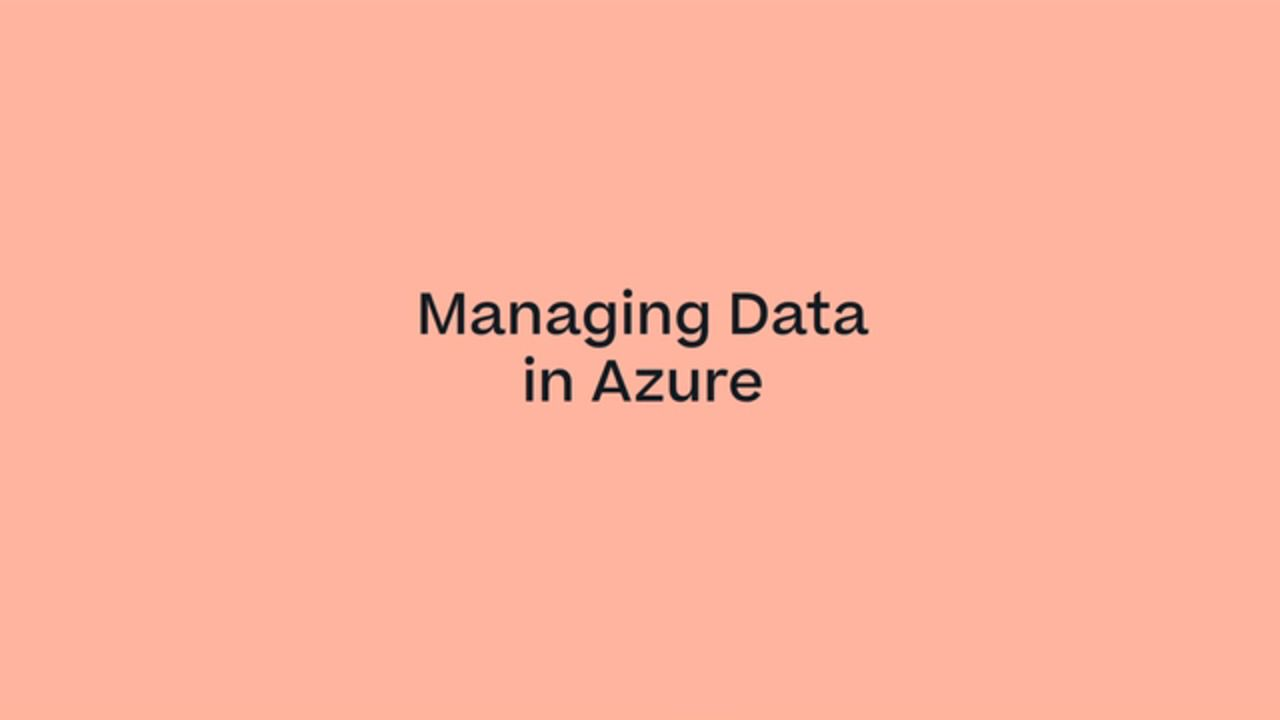 Managing Data in Microsoft Azure with Cloud Volumes ONTAP