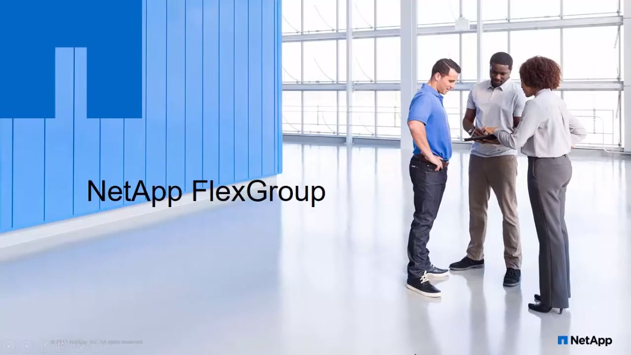Deploying and Managing FlexGroups Using OnCommand Management Software