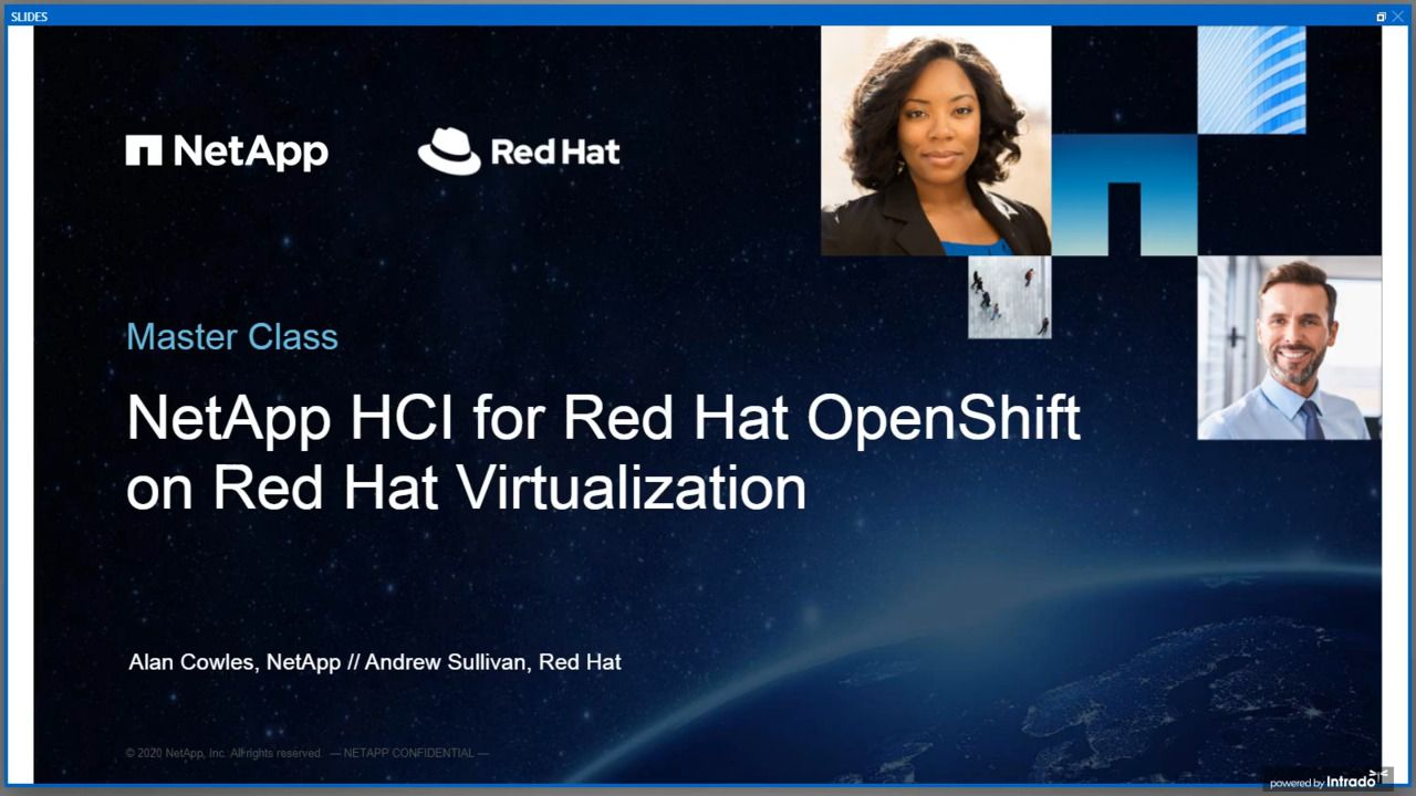 Technical Deep Dive of Red Hat on NetApp HCI