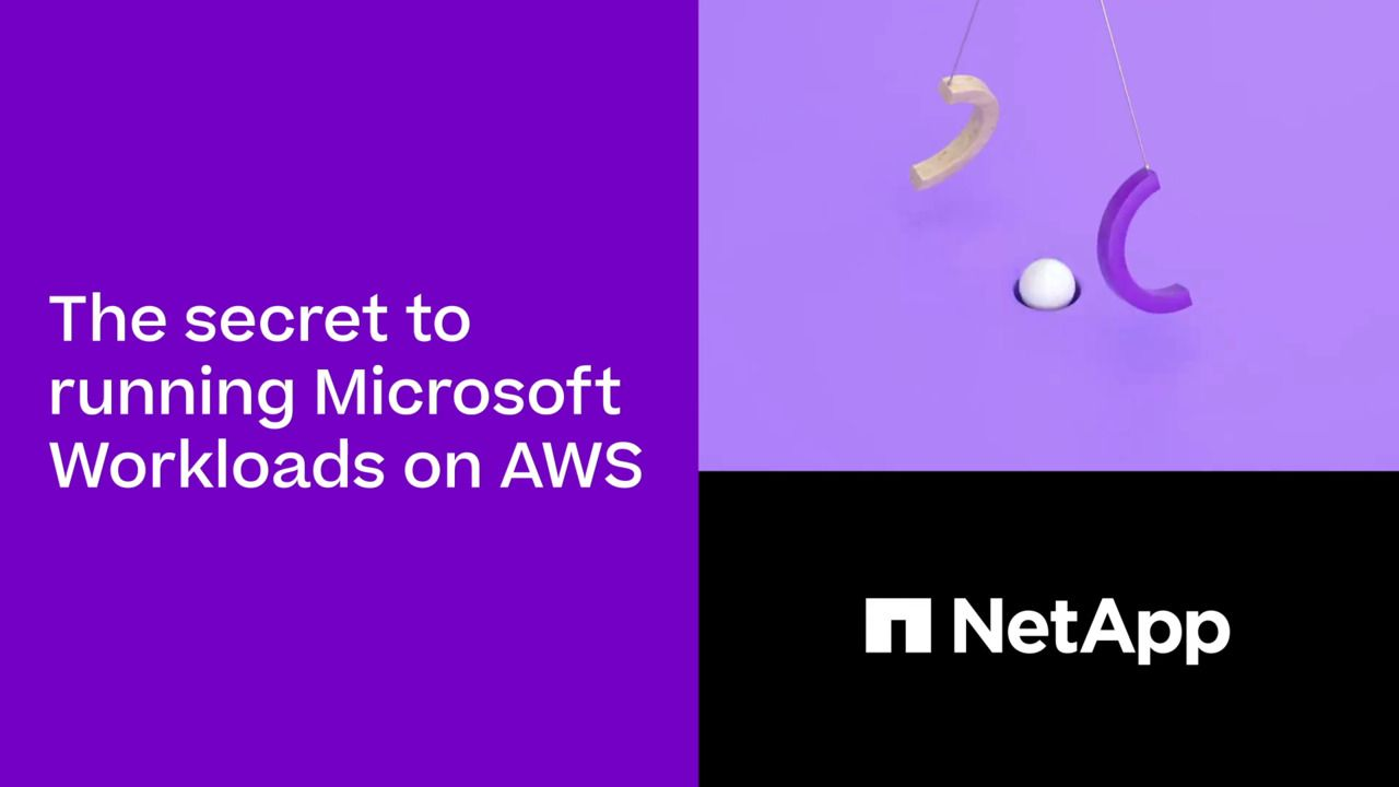 How to Run Microsoft Workloads on AWS