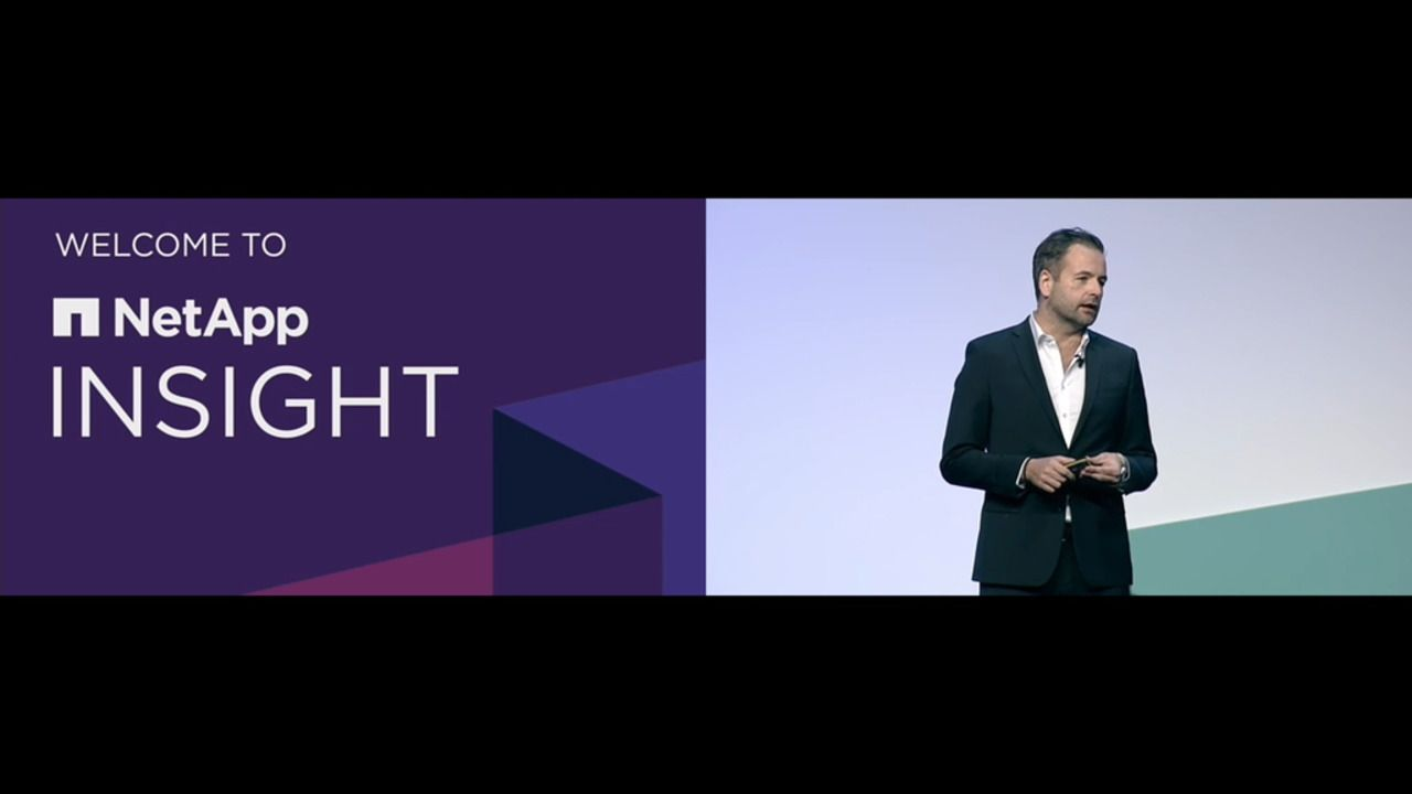 NetApp INSIGHT London 2020 Keynote