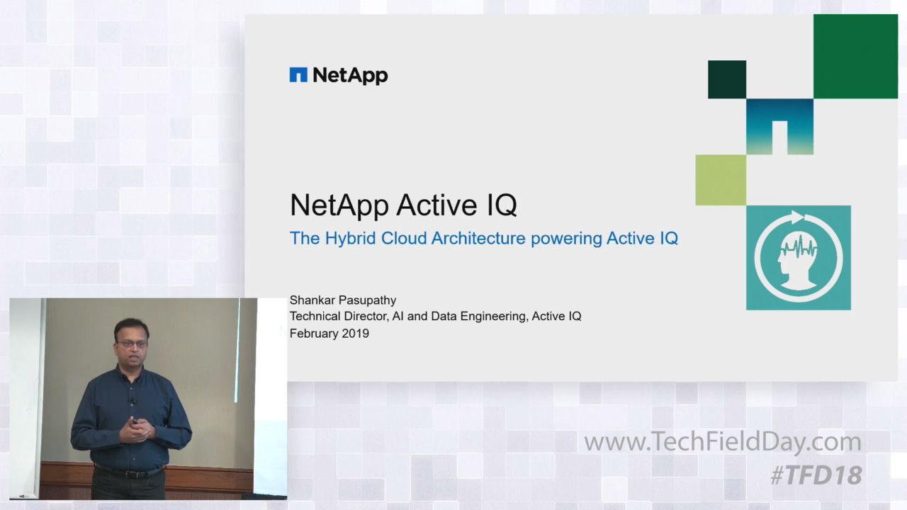 NetApp Hybrid Cloud Reference Architecture for Active IQ