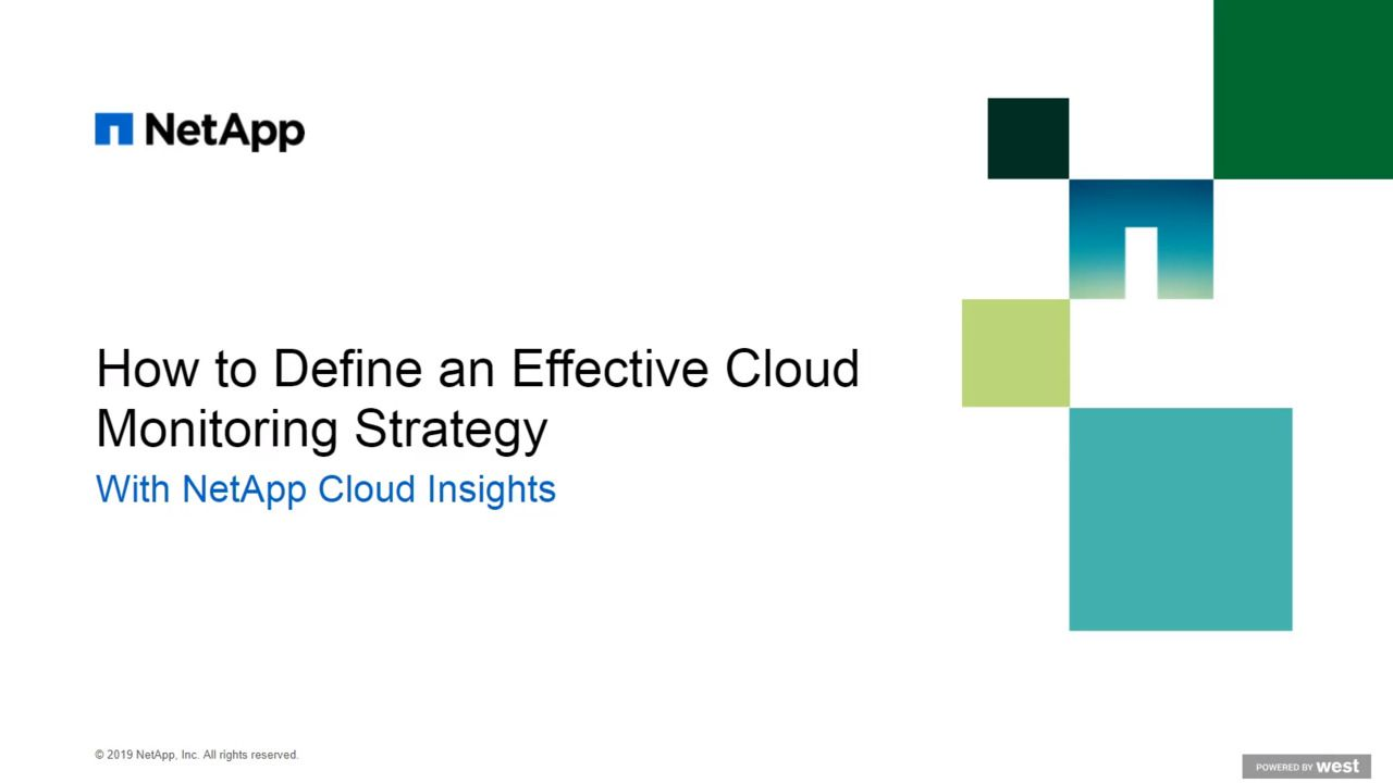 How to Define an Effective Cloud Infrastructure Monitoring Strategy
