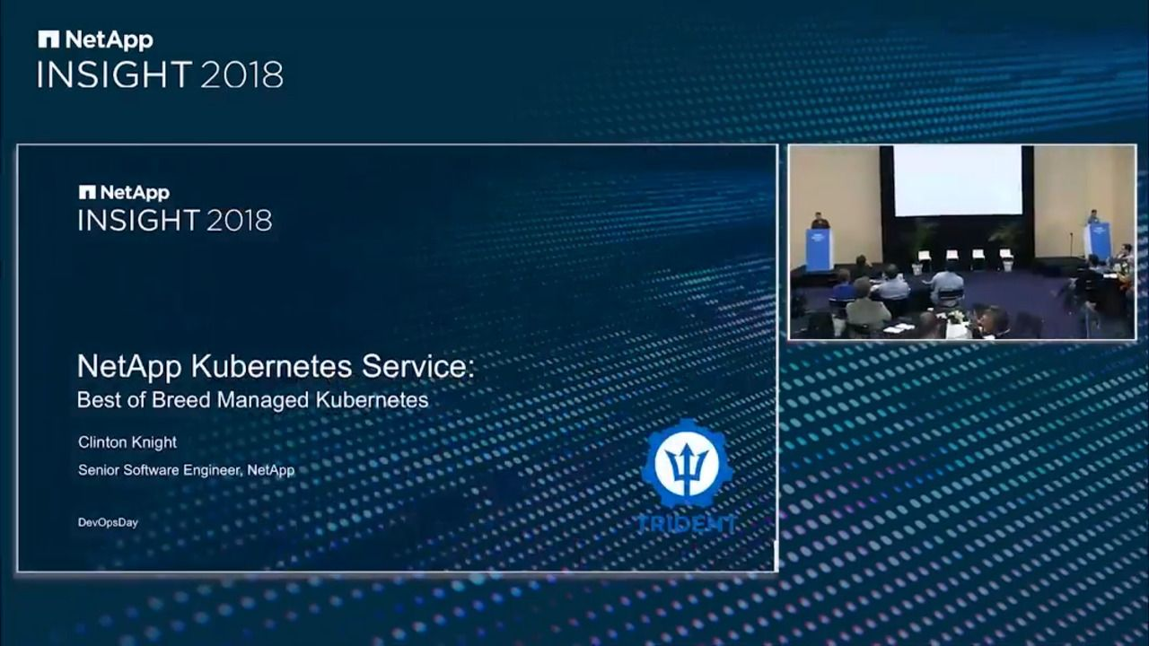 Overview and Demo of NetApp Kubernetes Service (NKS)