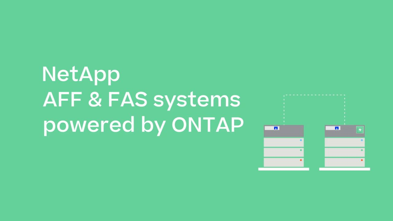 ONTAP Storage OS -  Connect Your Core to the Cloud
