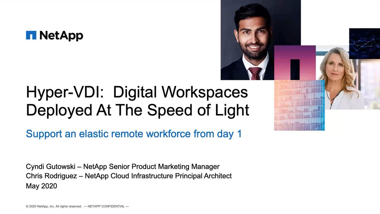 Hyper-VDI - Digital Workspaces Deployed At the Speed of Light