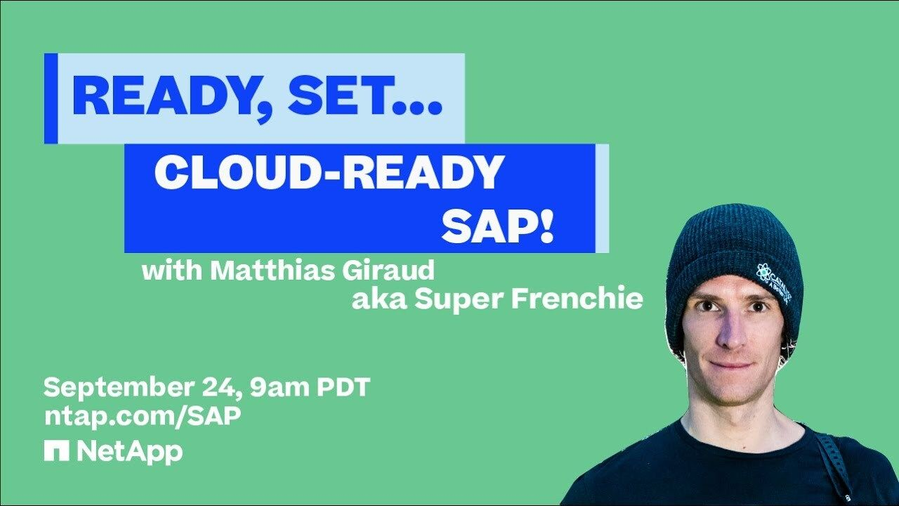 Ready, Set... Cloud-Ready SAP!