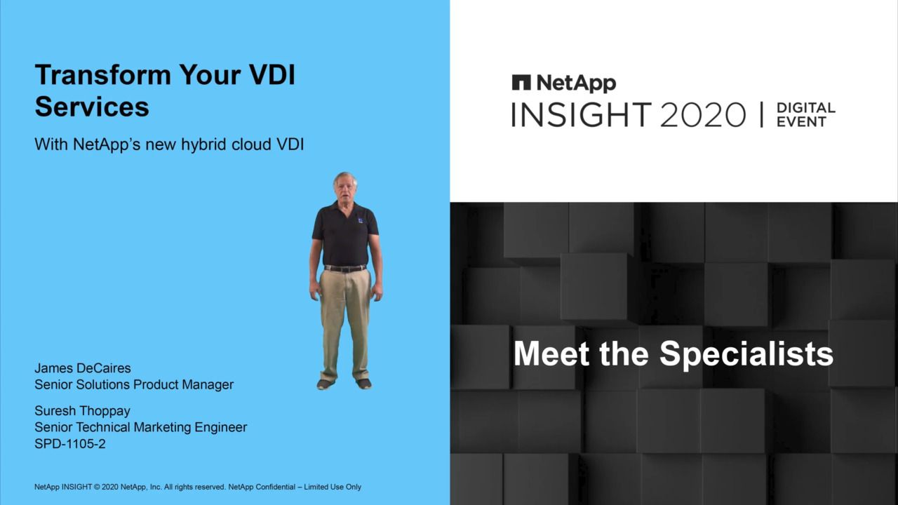 Transform Your VDI Services With New NetApp Hybrid Cloud VDI