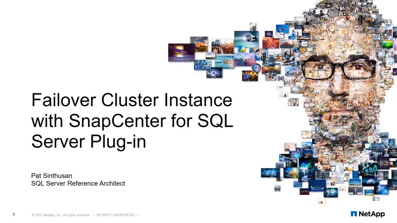 Building SQL Server Failover Cluster Instance with SnapCenter for SQL Server Plug-in