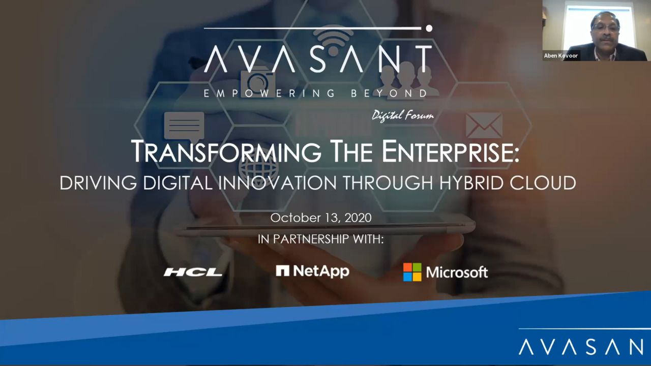 Transforming the Enterprise - Driving Digital Innovation Through Hybrid Cloud