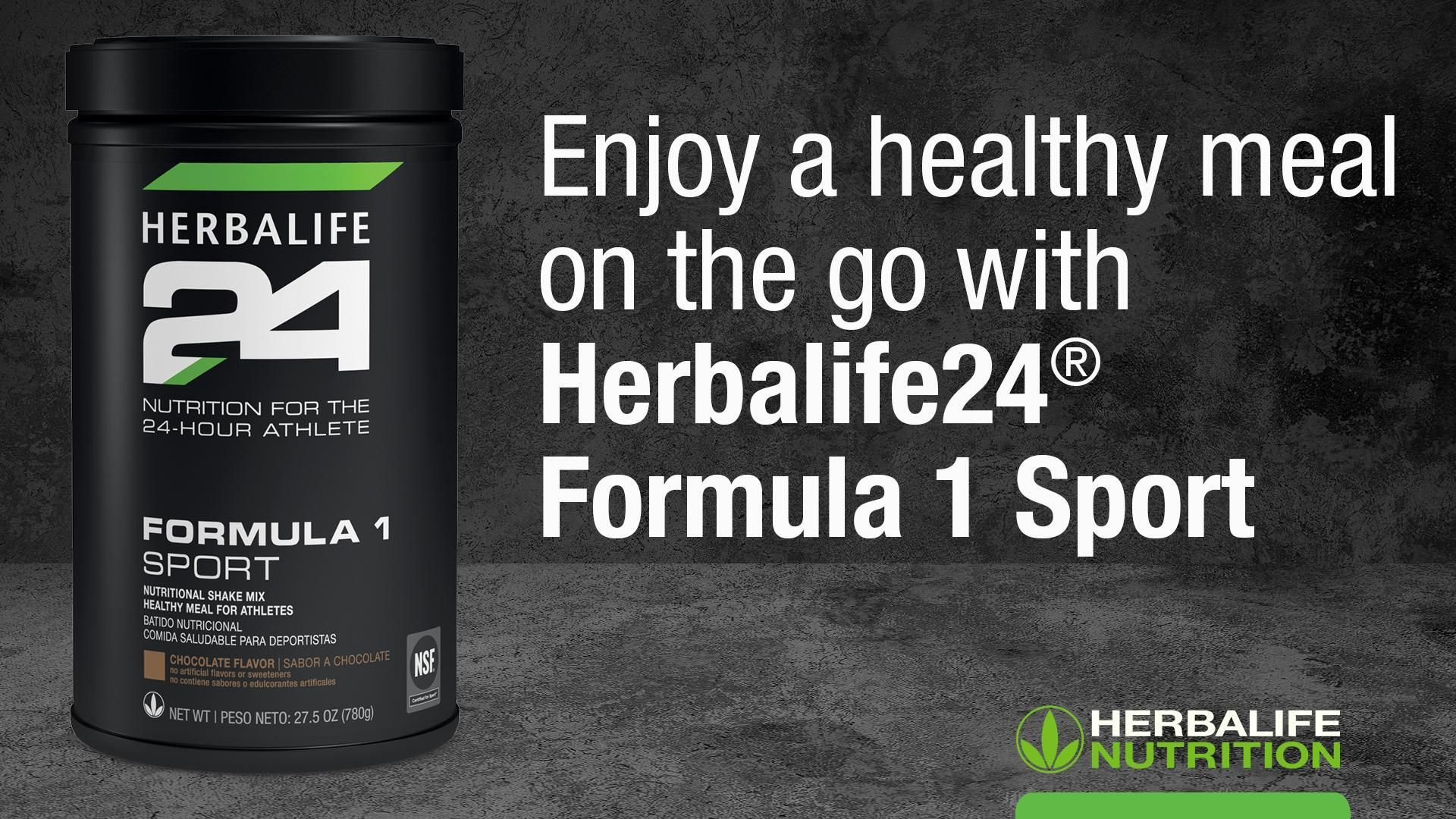 Herbalife24® Formula 1 Sport: Know the Products