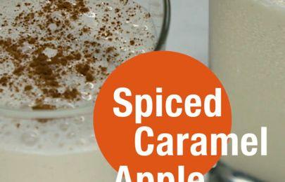 Spiced Caramel Apple Shake Recipe