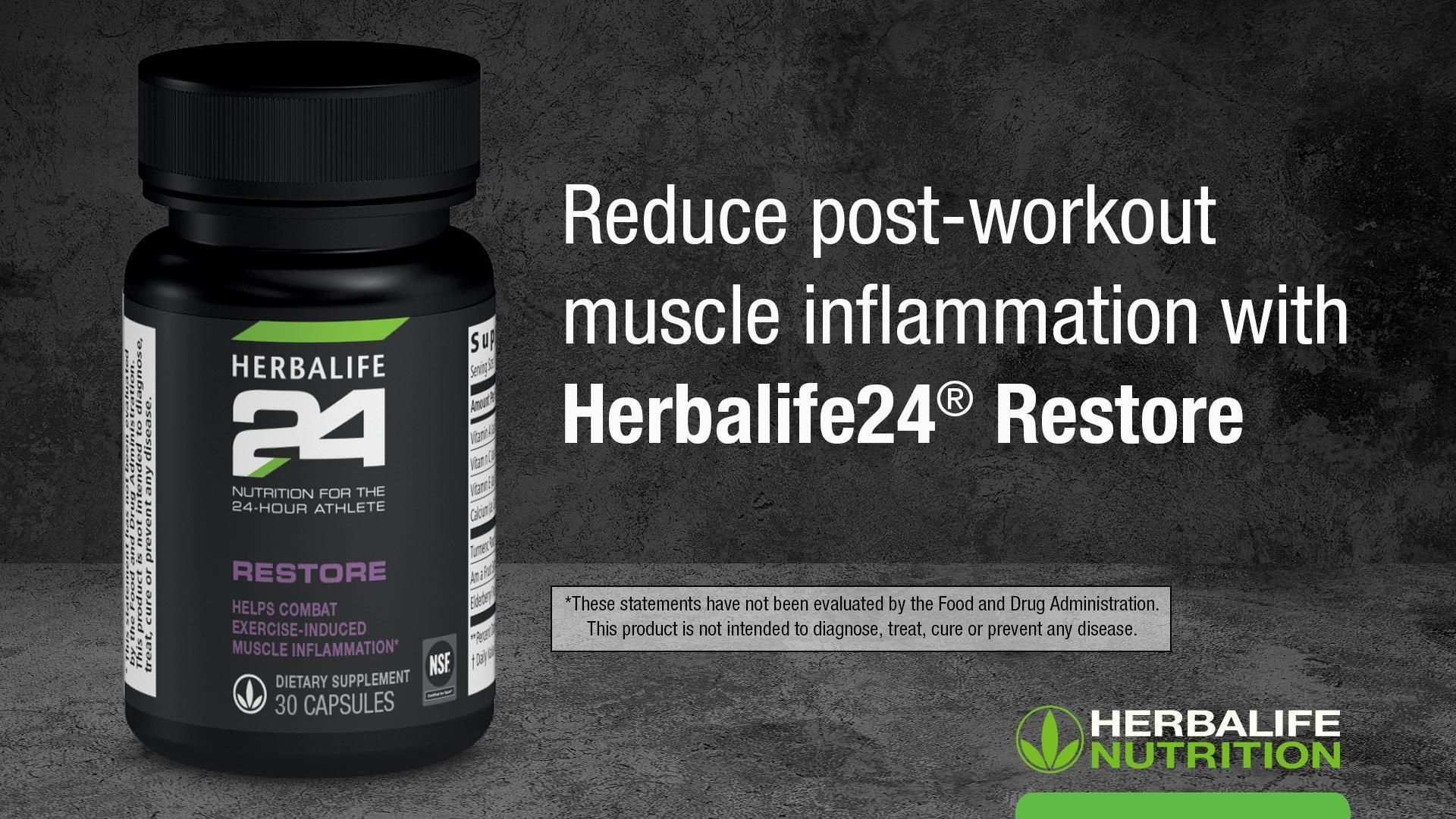 Herbalife24® Restore: Know the Products