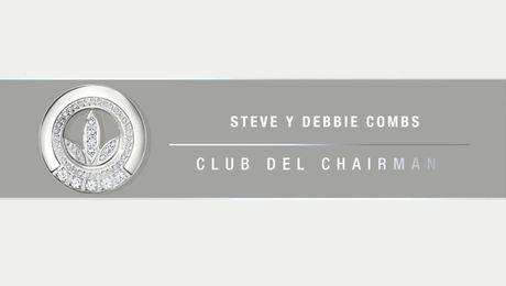 Nuevos miembros del Club del Chairman: Debbie y Steve Combs