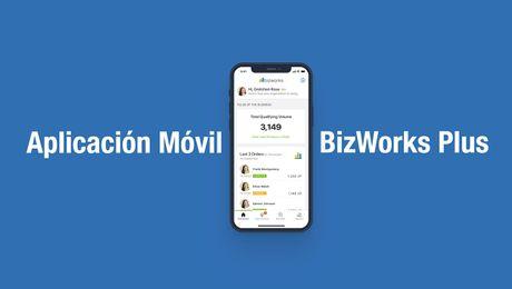 Lanzamiento de la aplicación móvil BizWorks Plus