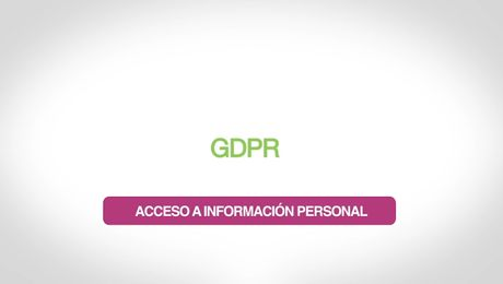 GDPR – Acceso a Información Personal