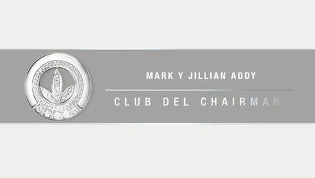 Nuevos miembros del Club del Chairman: Mark y Jillian Addy