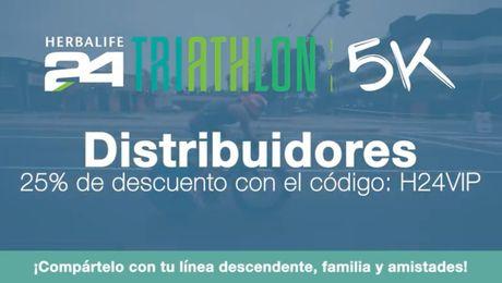 Video de inscripción al Herbalife24 Triatlón