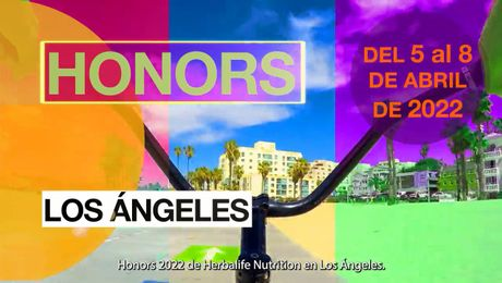 Anuncio sobre Honors 2022