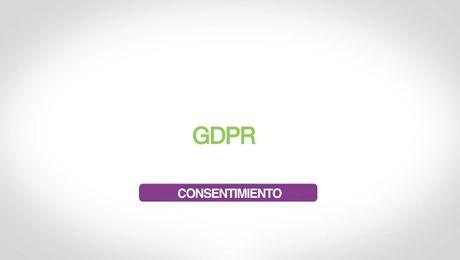 GDPR – Consentimiento