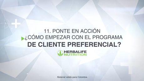 Ponte en acción, ¿cómo empezar con el Programa de Cliente Preferencial?