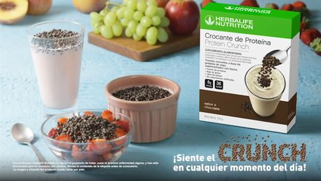 Video promocional Protein Crunch